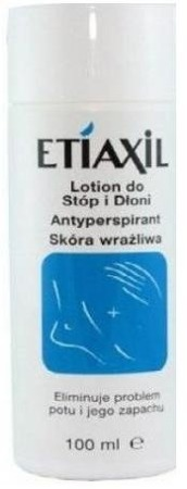 ETIAXIL LOTION WRAŻLIWA do dłoni i stóp 100ml