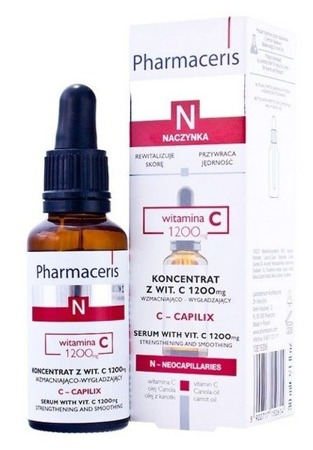 PHARMACERIS N C-CAPILIX koncentrat z wit C 1200 mg